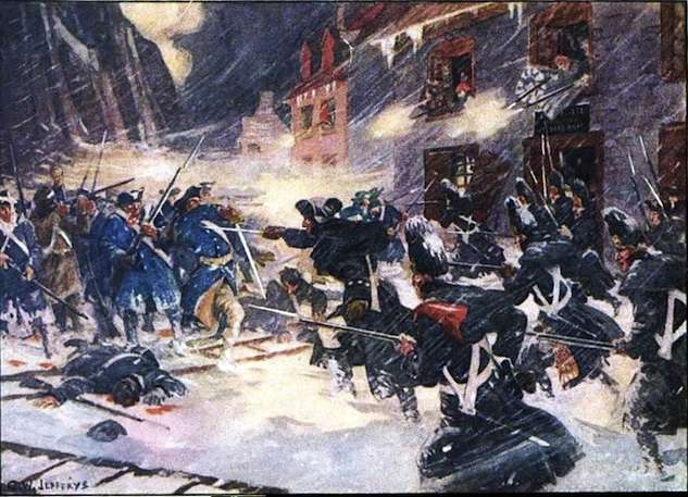 The Battle of Quebec