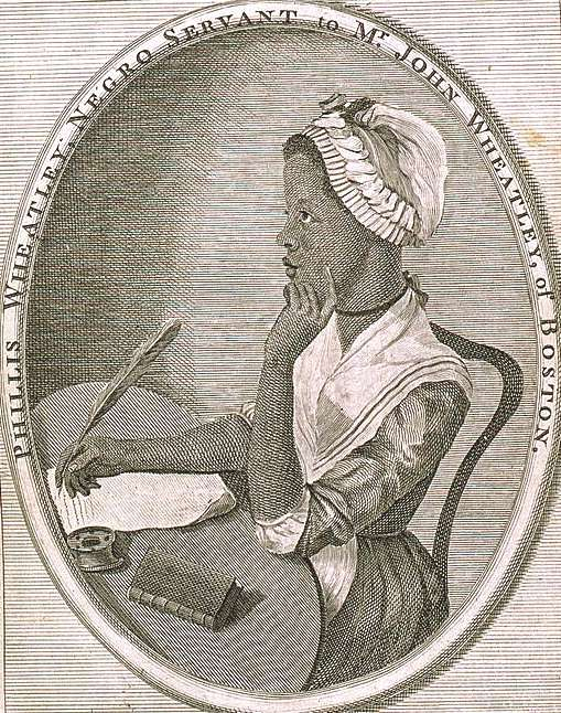 Event Calendar Illustration : Phillis wheatley boston s remarkable slave poet of