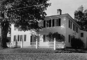 The Franklin Pierce Homestead, where the revolutionary war veterans dined