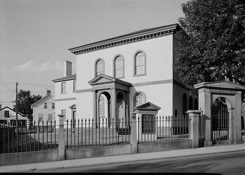 Touro Synagogue. Photo courtesy Library of Congress.