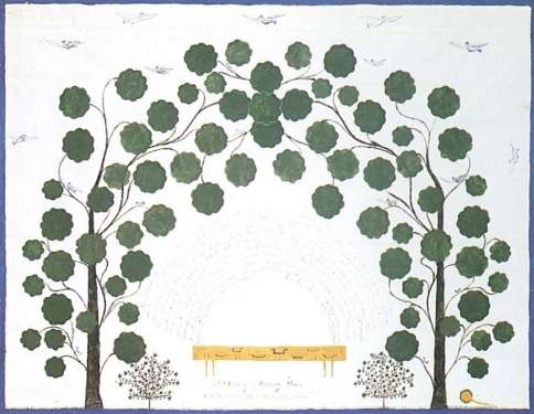 Hannah Cohoon, 'A Bower of Mulberry Trees'