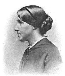 Louisa May Alcott as a Civil War Nurse