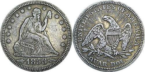 liberty pole Seated_Liberty_Quarter_with_Arrows_and_Rays