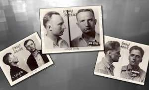 FBI mugshots of the Brady Gang.