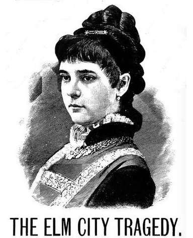 Cover of the book about the murder of Jennie Cramer, The Beautiful Victim of Elm City