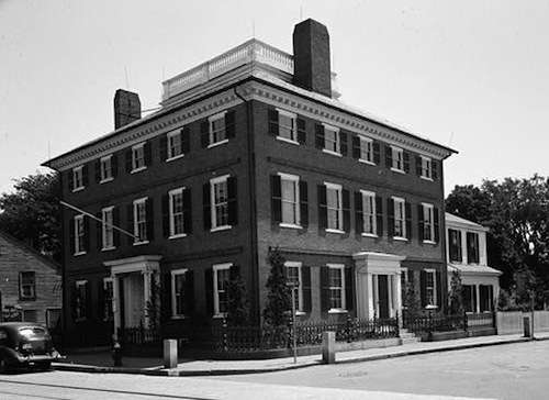 John Cabot House, completed 1781 in Beverly. Now owned by the Beverly Historical Society and open to the public.