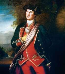 George Washington by Charles Wilson Peale.
