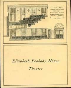 1911 proposal for the Elizabeth Peabody Playhouse