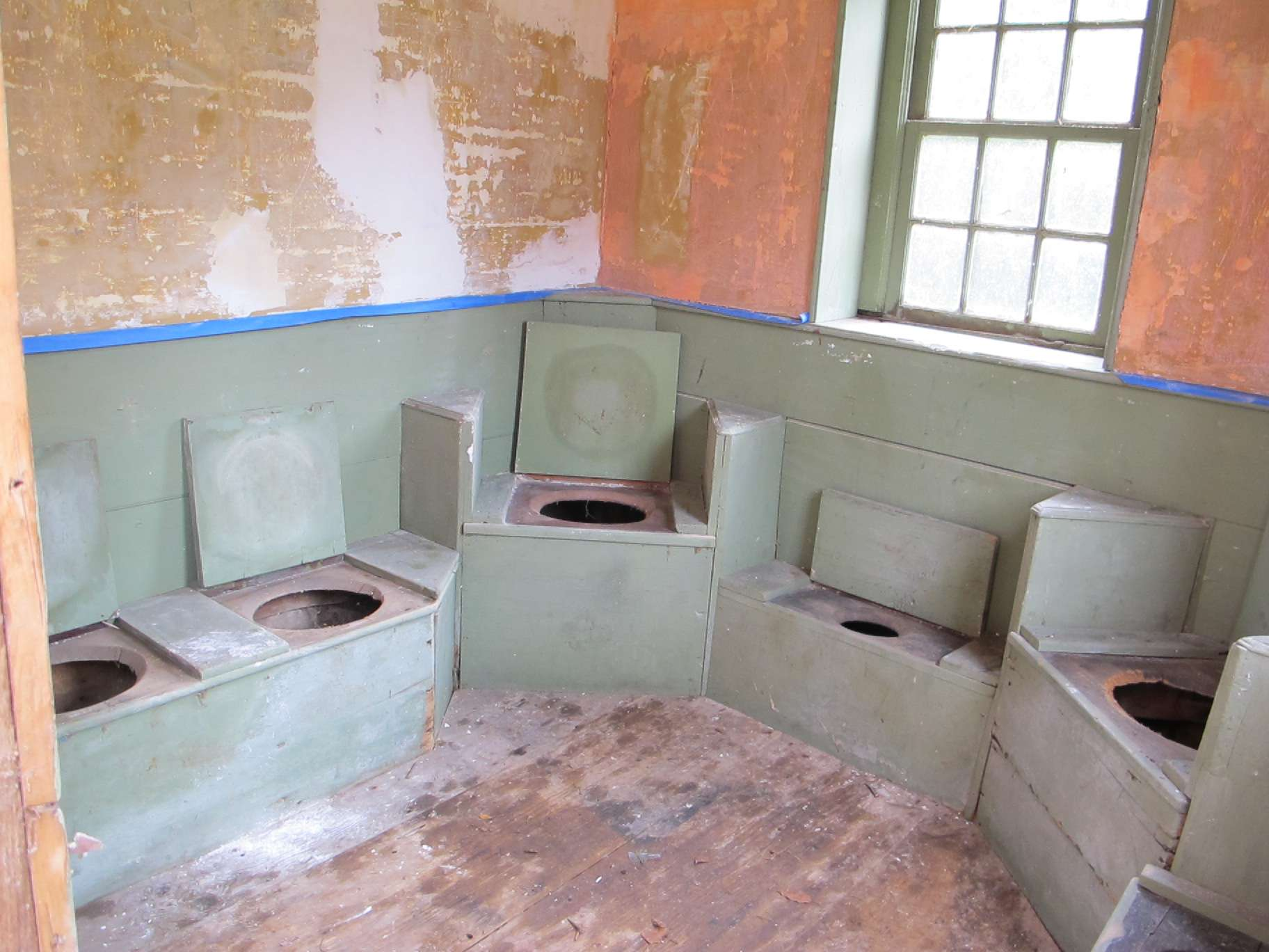 Colonial Outhouses Or George Washington Probably Sat