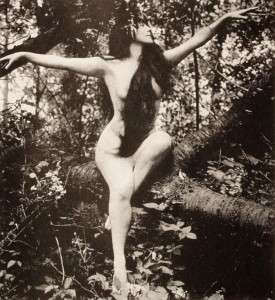 Annette Kellerman in A Daughter of the Gods.