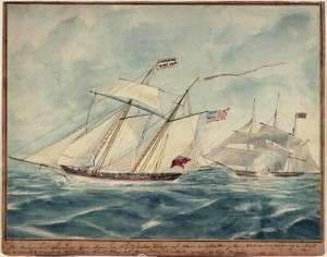 Revolutionary-era privateer.