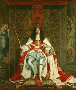 regicides Charles_II_of_England_in_Coronation_robes