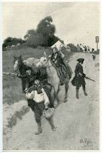 Tory Refugees by Howard Pyle (1853-1911)