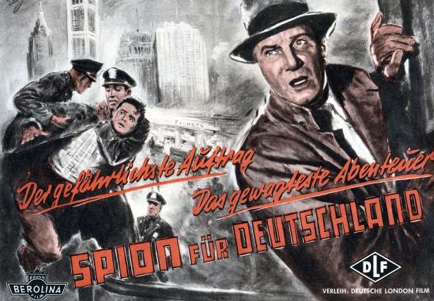'A Spy for Germany' was a 1956 film loosely based on Gimpel's memoirs.