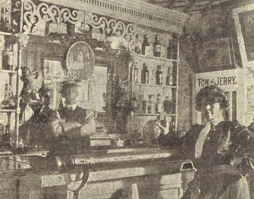 A saloon in the Devil's Half Acre