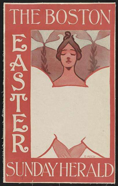 ethel reed easter poster