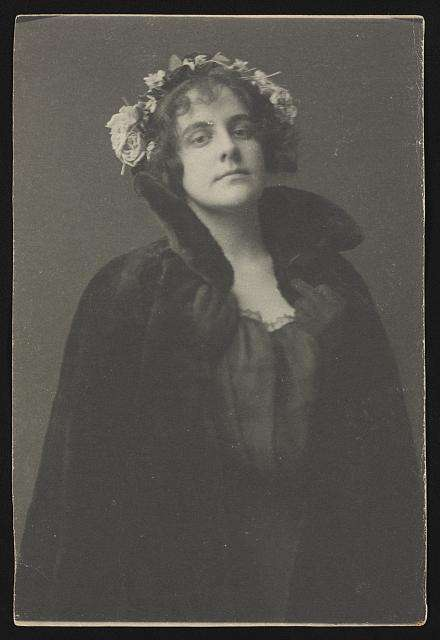 Ethel Reed by Frances Benjamin Johnston.