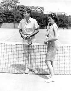 When Jack and Jackie were dating. Photo courtesy John F. Kennedy Library.