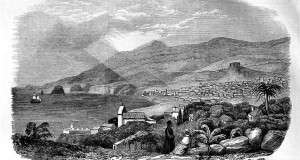Madeira in an illustration from the Illustrated London News, February, 1853.