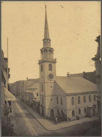 The Old South Meeting House in 1898