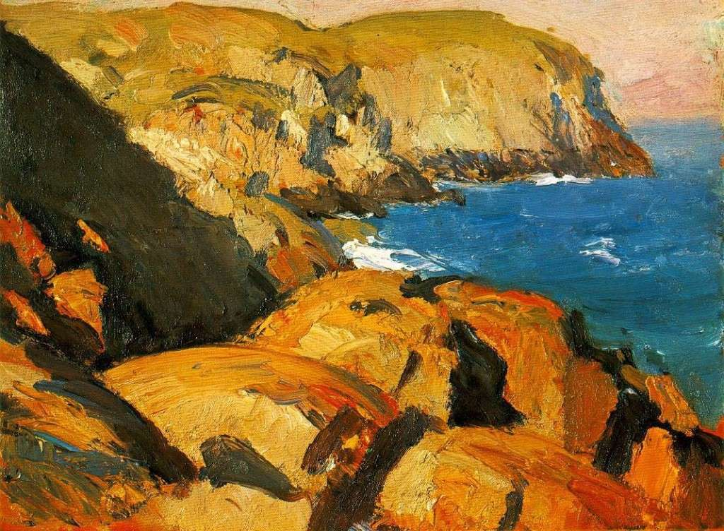 Blackhead, Monhegan, 1919. Whitney Museum of American Art