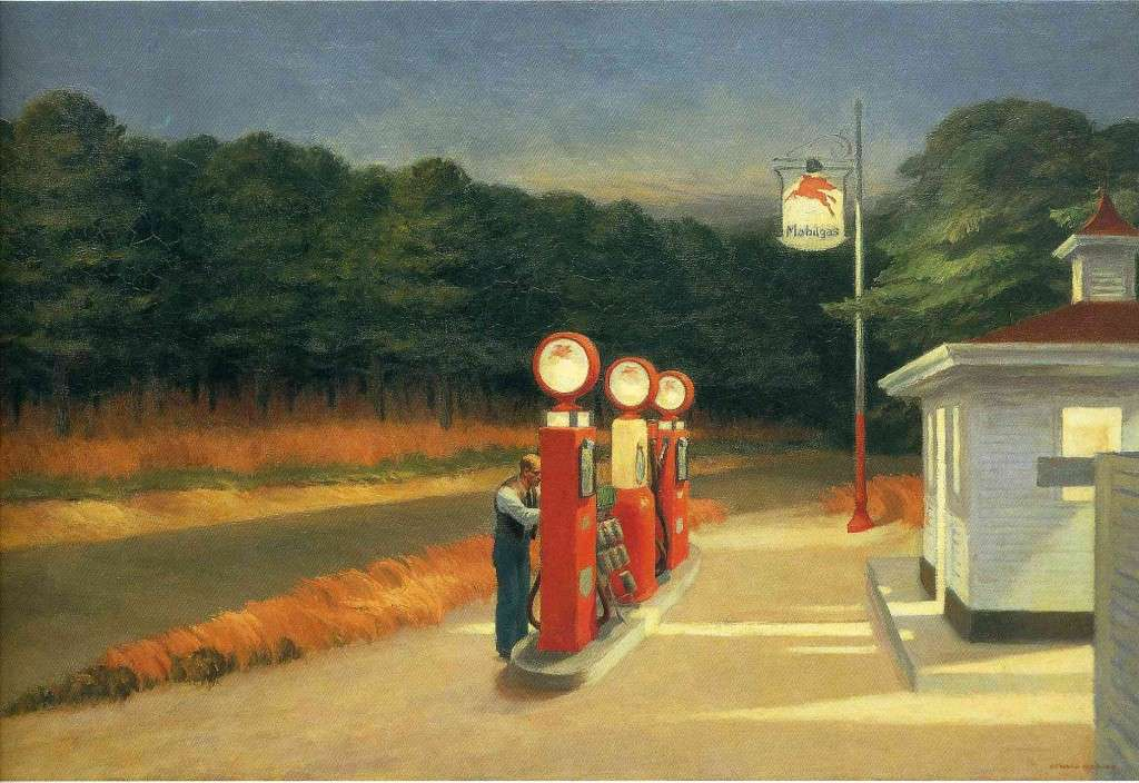 Gas, 1940, Museum of Modern Art