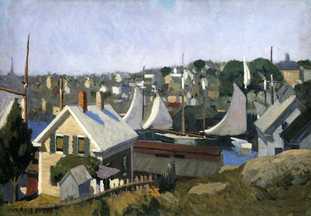 Gloucester Harbor, 1912