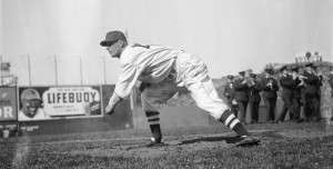 Flashback Photo: Lefty Grove Is Traded for a Fence