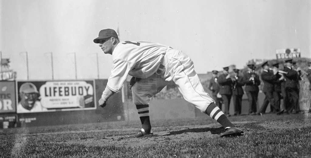 Lefty Grove. Photo courtesy Boston Public Library, Leslie Jones Collection.