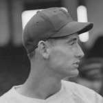 Ted Williams. Photo courtesy Boston Public Library, Leslie Jones Collection.