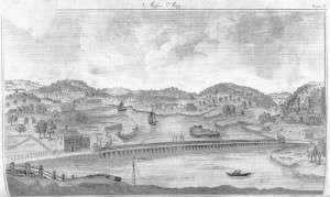 1790 view of Medford, Mass.