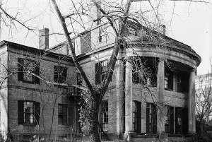 The Sigourney mansion in Hartford