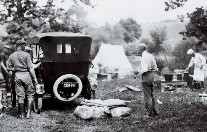 Thomas Edison Tries To Go Camping in New Hampshire - New