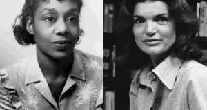 Dorothy West and Jacqueline Kennedy Onassis