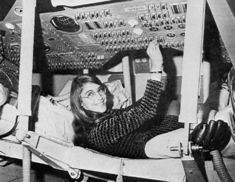 Margaret Hamilton in action