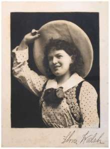 Flora Walsh in Texas Steer