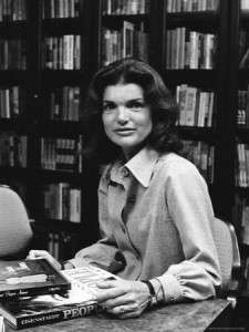 Jacqueline Kennedy Onassis as editor.