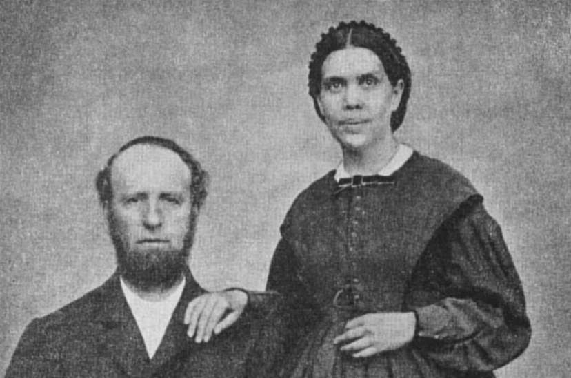John Springer White and Ellen Gould White