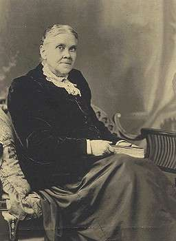 Ellen Gould White in later years.