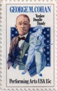 george m. cohan stamp