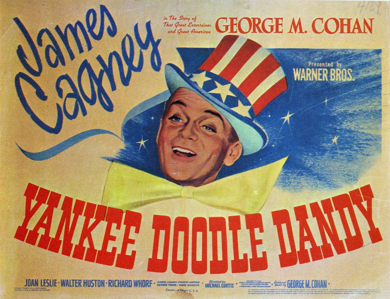James Cagney starring as George M. Cohan.
