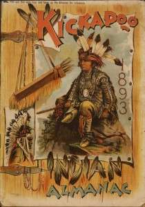 kickapoo indian almanac