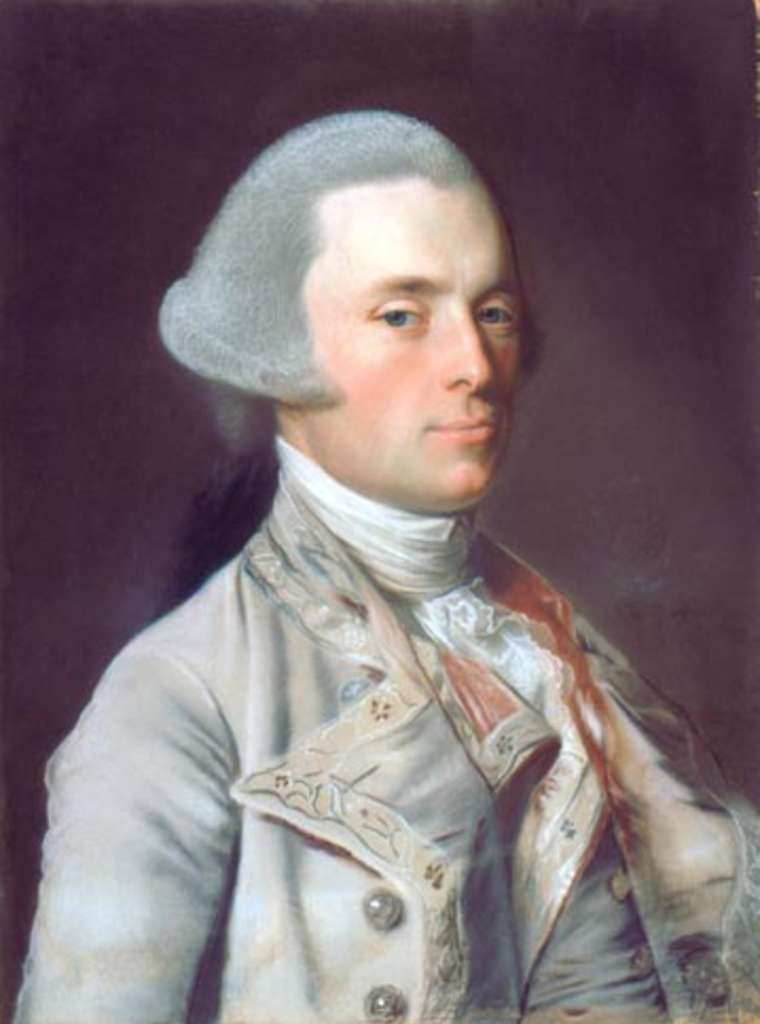 John Wentworth, by John Singleton Copley.