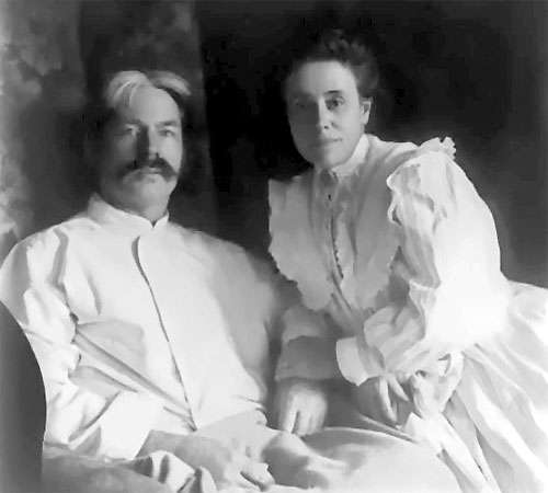Edward MacDowell and Marian MacDowell.