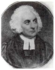 Portrait of Samuel Peters