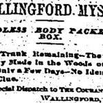 The Mystery of the Wallingford Shoebox Murder