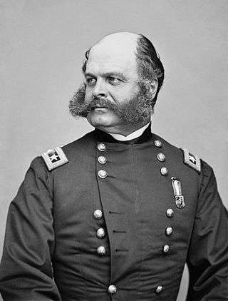 Ambrose Burnside, by Matthew Brady.