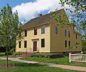Silas Deane house at the Webb-Deane-Stevens Museum.