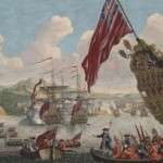 Duc D'Anville Sails for New England in 1746 to Burn the Town of Boston
