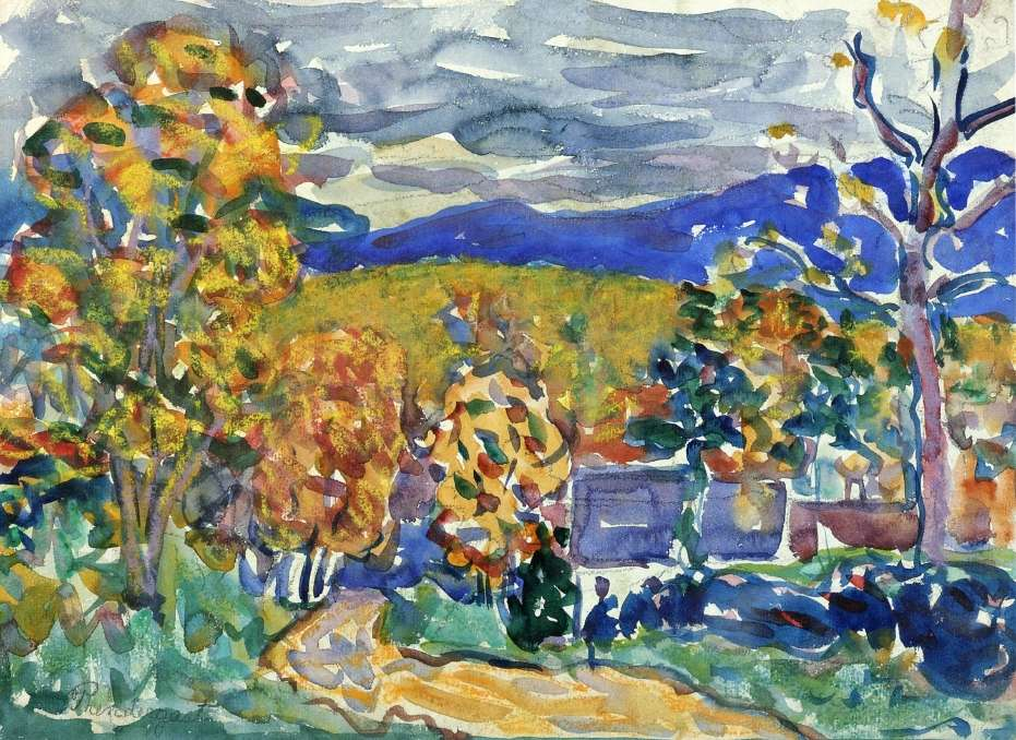 Autumn in New England, ca. 1913, Private collection.